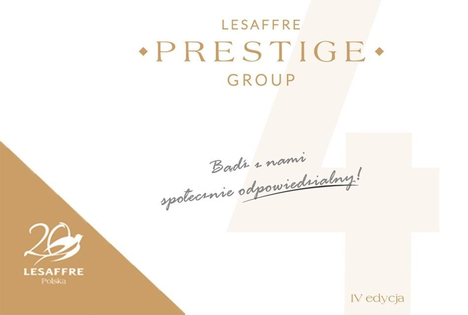 Lesaffre Prestige Group 4th edition - start of the promotional campaign on 01/10/2018